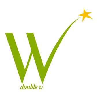 """Logo Agence W """"double v"""""""