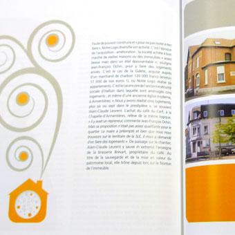 Brochures, catalogues, plaquettes : Habitat social