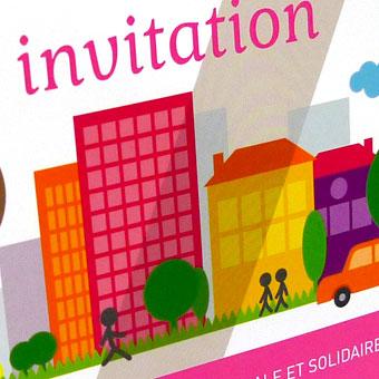 Invitations : Habitat Social