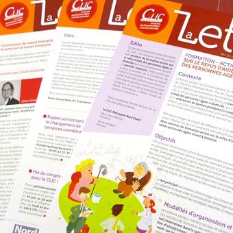 Newsletter associations