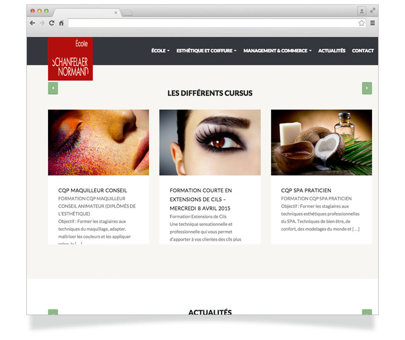 Site Internet Ecole Schanfelaer