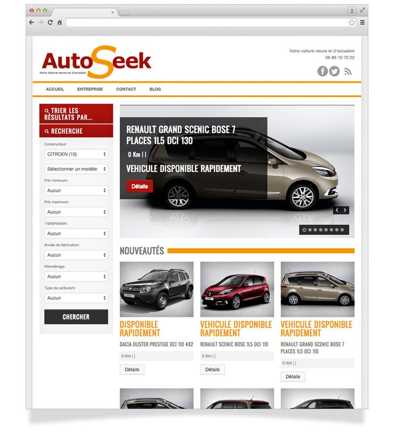 Site Internet AutoSeek