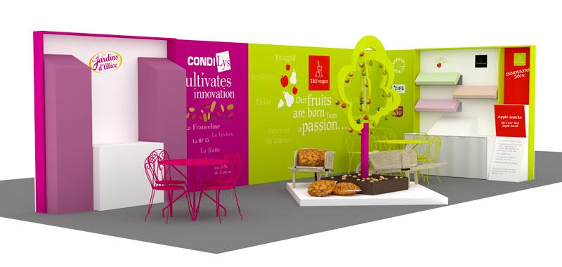 W double v quelques exemples de stands salons pour les for Exemple de stand pour salon